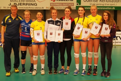 Her er Årets damehold i Volleyligaen