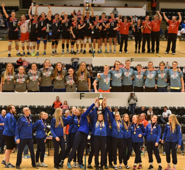 Gold for Sweden girls and Denmark boys at The NEVZA U19 Championships
